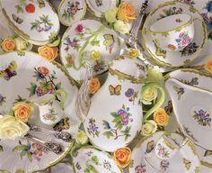 Herend porcelain, Victoria pattern