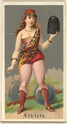 "The ""Occupations for Women"" series of trading cards was issued by Goodwin & Company in 1887 to promote Old Judge and Dogs Head Cigarettes. The Metropolitan Museum of Art owns all 50 cards in the series, as well as three duplicate cards Fancy Dress Ball, Maker Culture, Vintage Circus, Old Paper, Old Postcards, Magical Girl, Metropolitan Museum, Vintage Images, Vintage Antiques"