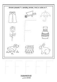 Písmenká - séria pracovných listov - Nasedeticky.sk Montessori, Word Search, Education, Games, Words, Alphabet, Note Cards, Lyrics, Gaming