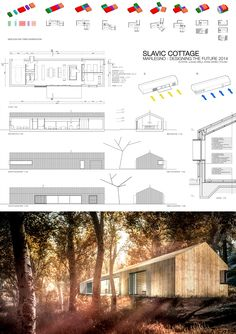Łukasz Grela - Pawel Dawiec Single Story Homes, Weekend House, Small Places, Prefab, Cladding, Future House, Tiny House, House Plans, New Homes