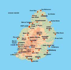 83 Best Mauritius - maps images | Mauritius, Mauritius island, Map