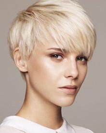THE PIXIE: Another legacy of 60's revolutions, the Pixie has been popularized by the biggest stars and biggest salons and remains today a predominant style for women of all demographics. The Pixie is defined by short layered back and sides cut above the ears, with a variety of longer tops, often with wispy bangs