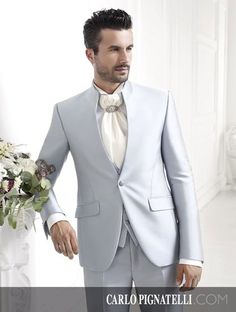 Carlo Pignatelli Cerimonia collection 2015. #carlopignatelli #cerimonia #sposo #groom #suit #wedding #matrimonio #weddingday