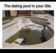 dating pool in 30s meme