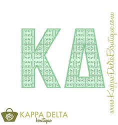 KD Boutique--The Kappa Delta Trellis Decal!