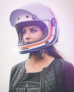 8negro: Girl+Helmet:: Joshua Hanford Photography.