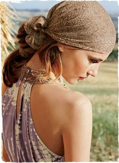 Beautifully bohemian from Peruvian Connection - a quieter, more neutral colored version