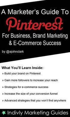 A Marketer's Guide To Pinterest For Business, Brand Marketing  E-Commerce Success