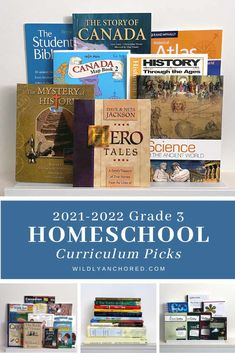 2021-2022 Grade 3 Homeschool Currirulum Picks Wildly Anchored All About Spelling, Handwriting Without Tears, Saxon Math, Short Stories For Kids, Bible Study For Kids, Teaching Writing, Homeschool Curriculum, Grade 3, Read Aloud