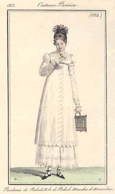 1813 Costume Parisien