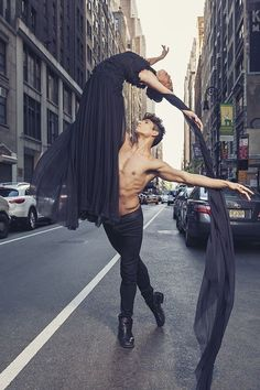 """Alexander Fost, ballet dancer from Season 8 of """"So You Think You Can Dance?"""" and Carrie Lee Riggins, formerly of the NYC Ballet and actress as seen in Black Swan,"""" photo by Paul Tirado Tango, Lindy Hop, Shall We Dance, Lets Dance, Modern Dance, Dance Photos, Dance Pictures, Hip Hop, All About Dance"""