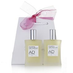 202859 AD Skin Synergy Nourishing Night Treatment Duo 50ml  QVC Price:£44.00 + P&P: £4.95 4 Easy Pay instalments of  £11.00, plus P&P  Order now to receive this product when more stock arrives, week commencing 16/05/2016