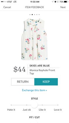 I love Stitch Fix! A personalized styling service and it's amazing!! Simply fill out a style profile with sizing and preferences. Then your very own stylist selects 5 pieces to send to you to try out at home. Keep what you love and return what you don't. Only a $20 fee which is also applied to anything you keep. Plus, if you keep all 5 pieces you get 25% off! Free shipping both ways. Use referral link https://www.stitchfix.com/referral/10315799
