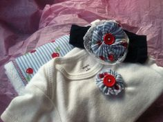 Fabric yo-yo video tutorial. Cute for embellishing/ revamping girls clothes.