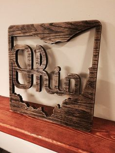 This Script Ohio wood wall decor, made from thick oak plywood, is a unique way to display Ohio State pride. Each sign is precision cut in a