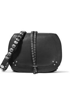 Shop on-sale Jérôme Dreyfuss Nestor embellished leather shoulder bag. Browse other discount designer Shoulder Bags & more on The Most Fashionable Fashion Outlet, THE OUTNET.COM