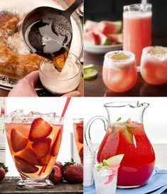 Cool Summer Drinks   Recipes...