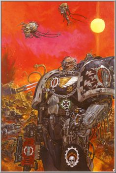 nightbringer24:  omercifulheaves:  Art by Adrian Smith  This man's art is the shit.