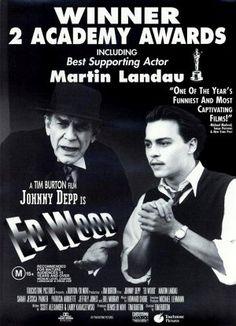 TB144. Ed Wood / Movie Poster (II) (1994) / #Movieposter / #Timburton