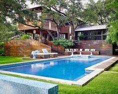 Webber & Studio, Architects. Pool Fashion, Modern Pools, Glass House, Houzz, Sunroom, Green Houses