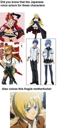 Otaku Meme » Anime and Cosplay Memes! » This Fact About A Voice Actor Will Blow Your Mind!