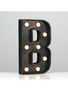 Great Vintage Broadway Style Letter B
