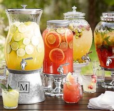 Citrus coolers, great for Summer parties!