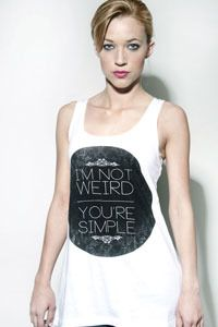 I'm not Weird, you're simple II