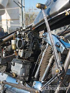 1964 Harley-Davidson XLCH Sportster carburetor  #custom #hd