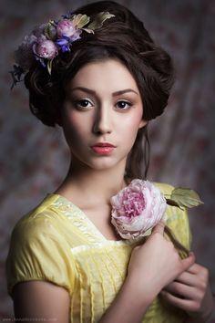 Silk flowers by lily Marchenko Creative Studio Flowear, Hands & Belts vk . com / flowear