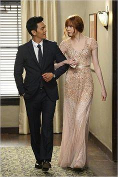 John Cho, Karen Gillan (most gorgeous co-stars on current TV)