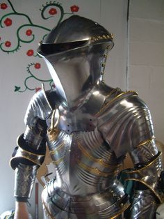 Medieval Knight, Medieval Armor, Medieval Fantasy, Good Knight, Ancient Armor, Armadura Medieval, Armor Concept, Knight Armor, Suit Of Armor