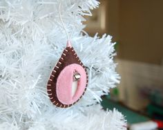 vagina vulva christmas ornament Meet Coco: a gift by feltmelons