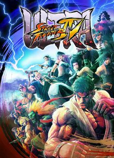 Ultra Street Fighter 4's official arcade poster