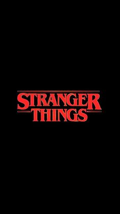 Strange things wallpaper