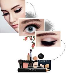 """""""Late Night Cat Eye."""" by no-limits ❤ liked on Polyvore"""