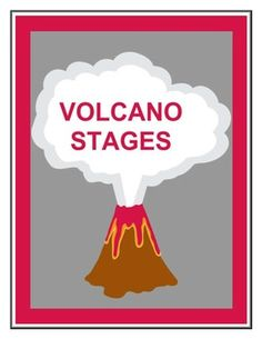 Volcano Stages Worksheet - On Sale