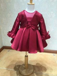 Honggu 2015 new arrival flower girl dress with jacket