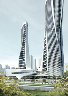 Arch2o-Raffles City HangzhouUNStudio (7). Más sobre ciudades sostenibles en www.solerplanet.com