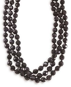 72 inch necklace, Carolee Necklace, Jet Bead Long Rope - Fashion Necklaces - Jewelry & Watches - Macy's