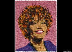 Jason Mecier's Whitney Houston 'Pill Portrait' Pays Tribute ToSinger