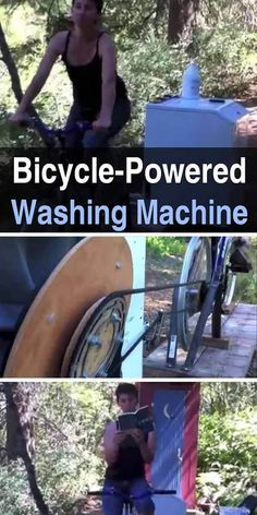 Unfortunately, washing machines take a lot of power. How do you use a washing machine when you either don't have electricity or it's in short supply? #diy #homesteading #offgrid #laundry #offthegrid