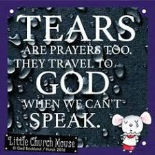 ♡♡♡ Tears are prayers too. They travel to God when we can't Speak.Little Church Mouse 27 April 2016 ♡♡♡ Biblical Quotes, Prayer Quotes, Religious Quotes, Bible Verses Quotes, Spiritual Quotes, Faith Quotes, Positive Quotes, Scriptures, Happy Quotes