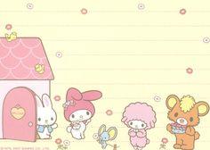 Kawaii memo paper - My Melody - Sanrio