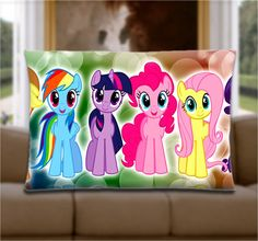 Custom Pillow Cover  Cute My Little Pony Ponies by WoodsPillow, $15.00