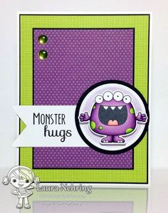Your Next Stamp - Silly Monsters