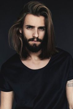 296 Best Man Long Hair Images Long Haired Men Male Hair Man Fashion