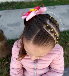 ✨🌺 Estilo de hoy 🌺✨ Desde que vimos este estilo nos encantó 😍🙌 aunque modificamos un poco el estilo para darle nuestro toque✨ Nos… Lil Girl Hairstyles, Toddler Hairstyles, Pelo Afro, Hair Affair, Your Hair, Little Girls, Hair Color, Hair Beauty, Hair Styles
