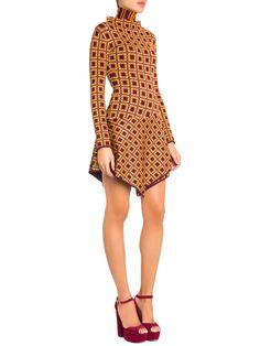 R$ 2.587,90  Vestido Gola Alta Esna - Lolitta - Vinho  - Shop2gether
