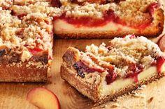 Schlesischer Zwetschgen - Quark Kuchen